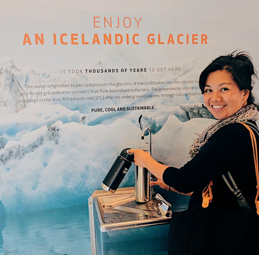 Totally double fisting and totally brought this water back to the States. How often can you say you are drinking Icelandic glacier water. Found at KEF airpot, but get in line quickly because lots of people will have the same idea.