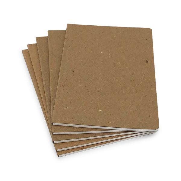 Guided Brown Recycled Notebook