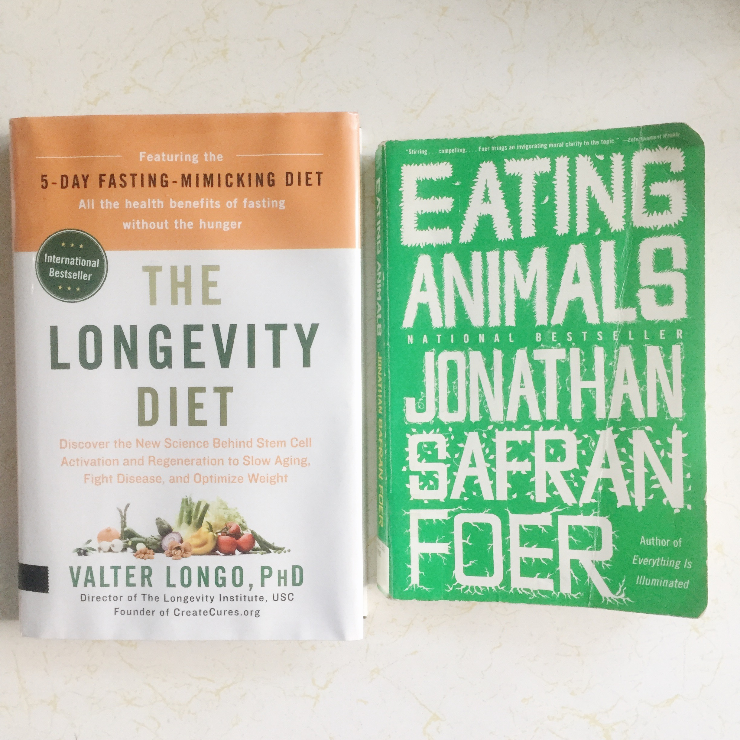 Two books that changed my perspective in eating animals. I'm not vegan and probably never will but these were very insightful to read and will change how I eat in the years to come.