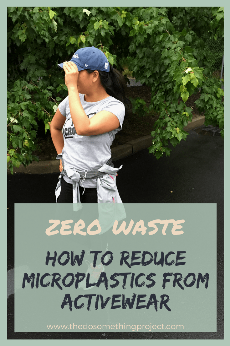 How to reduce micro plastics from your activewear