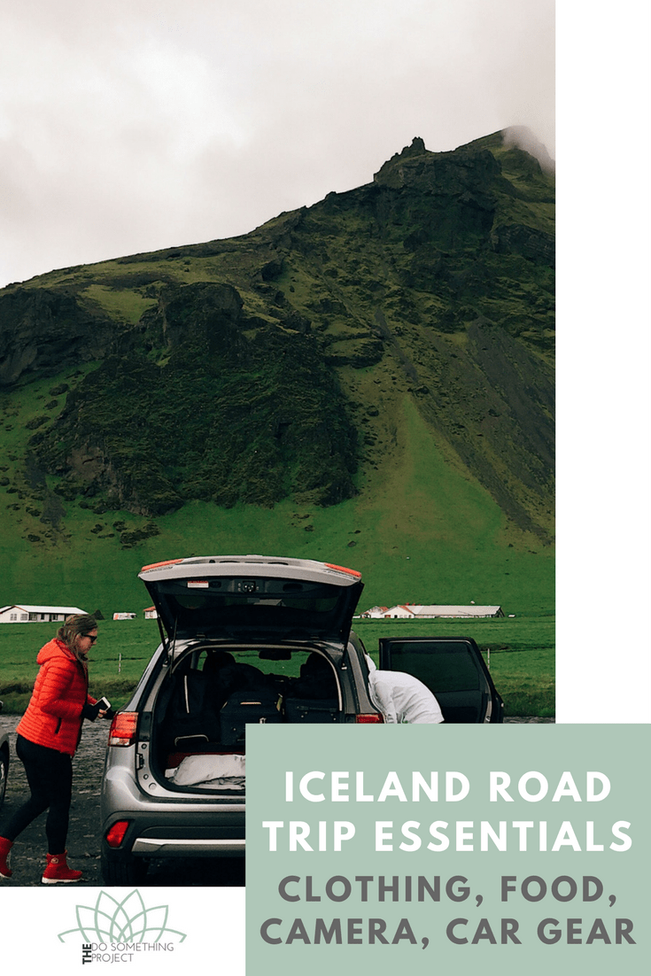 What to pack for Iceland for a Ring Road Trip