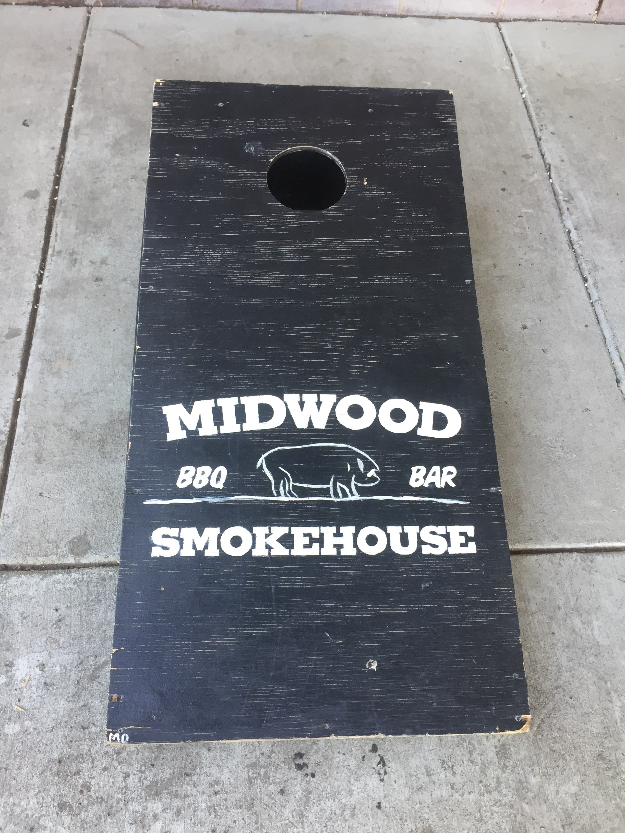 Charlotte Midwood Smokehouse pre-lunch workout.