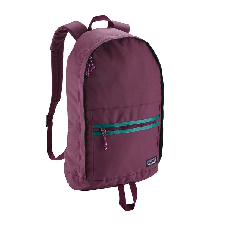 Recycled polyester backpack from Patagonia.