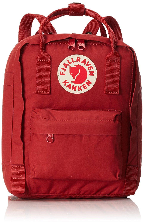 Fjallraven Kanken Backpack found on Amazon.