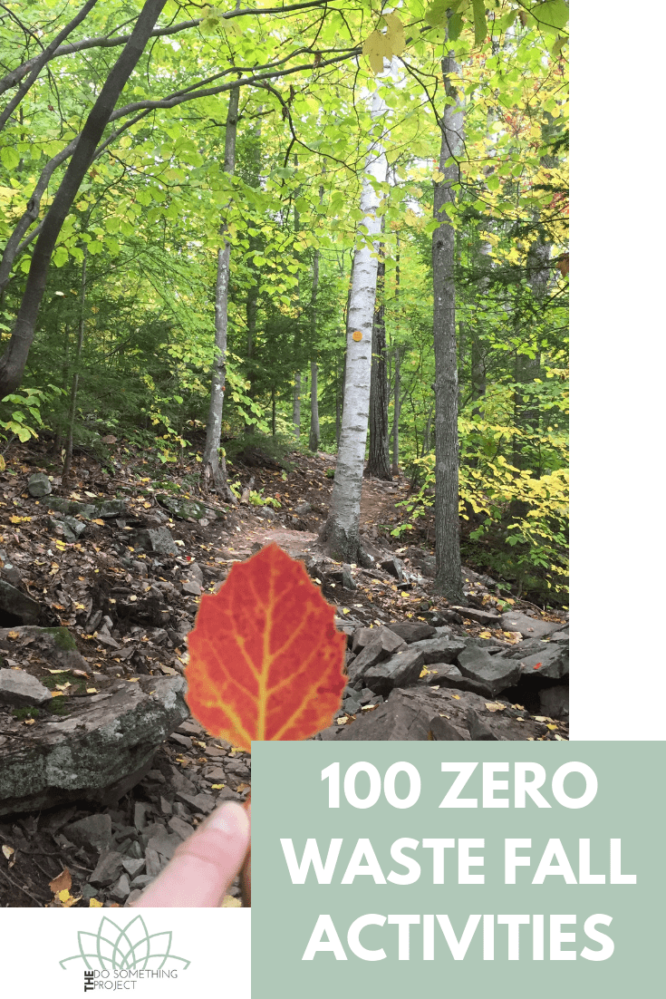 Zero Waste Fall Activities: Enjoy the best time of the year.