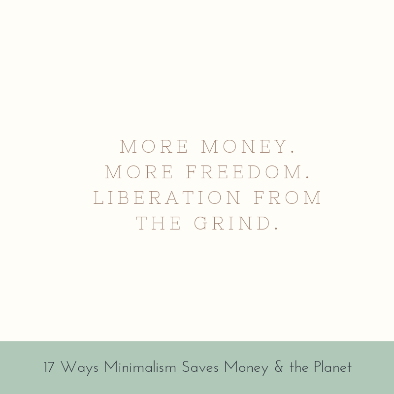 More money. More freedom. Liberation from the grind.