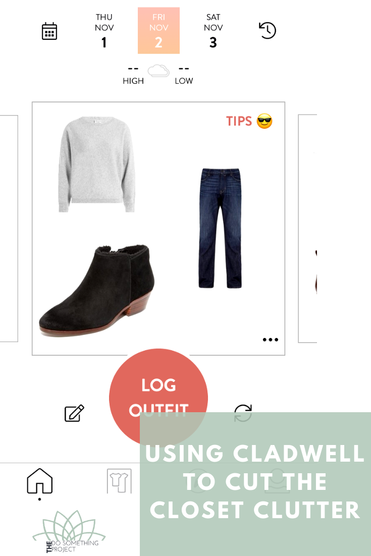Using Cladwell to Cut the Closet Clutter