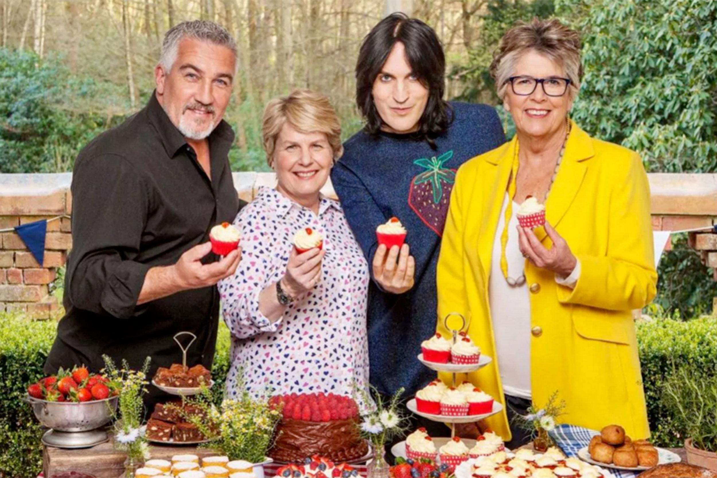 Great British Baking Show Cast