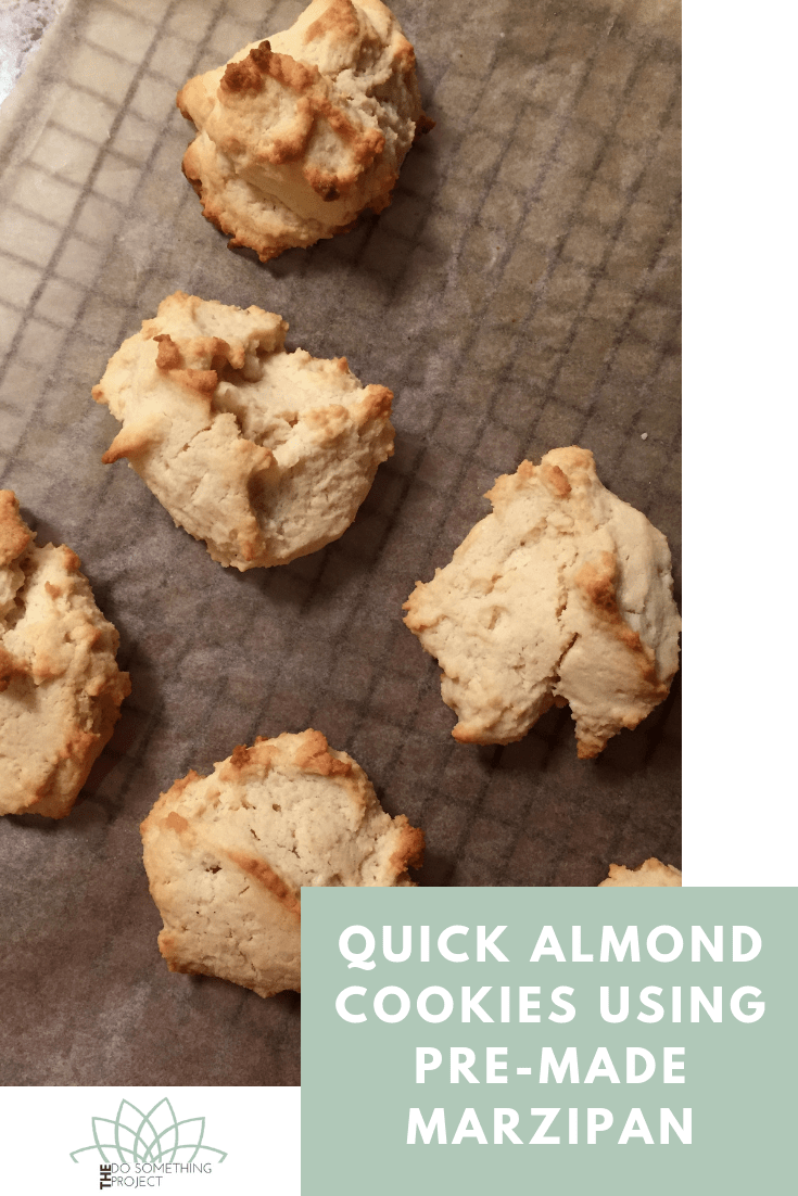 Quick Almond Cookies Using Pre-Made Marzipan
