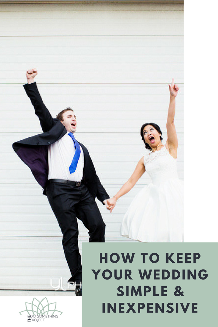 How to Keep Your Wedding Simple, Inexpensive and Eco-Friendly