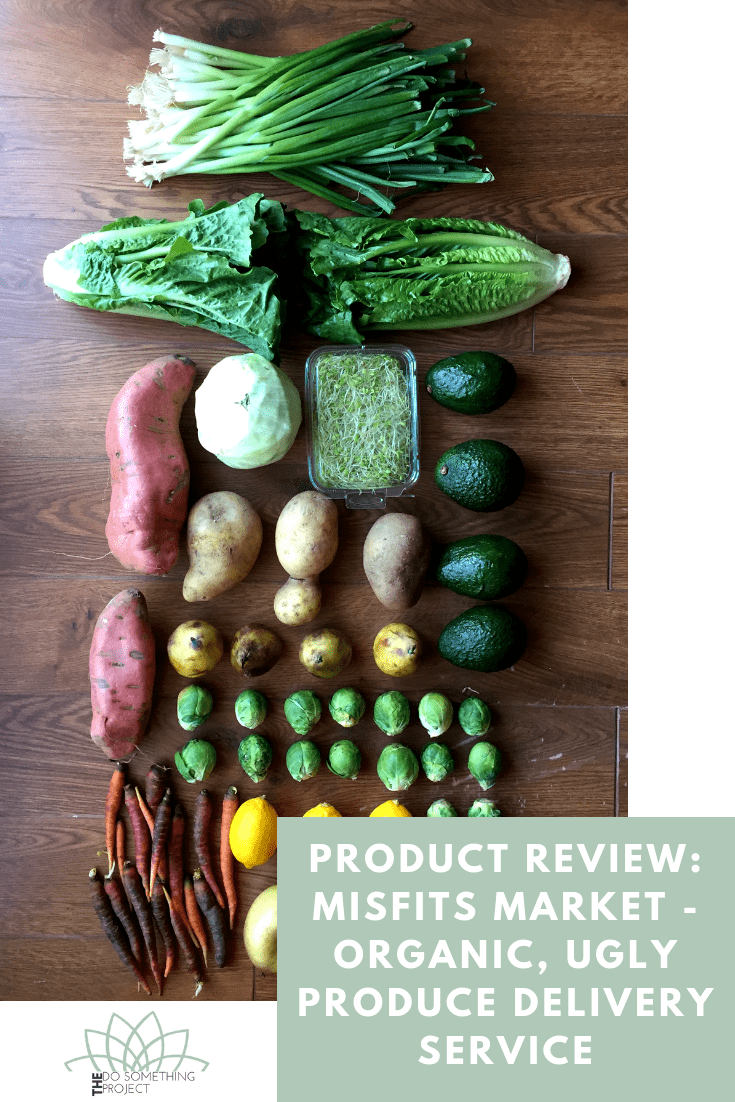 Product Review: Misfits Market - Organic, Ugly Produce Delivery Service