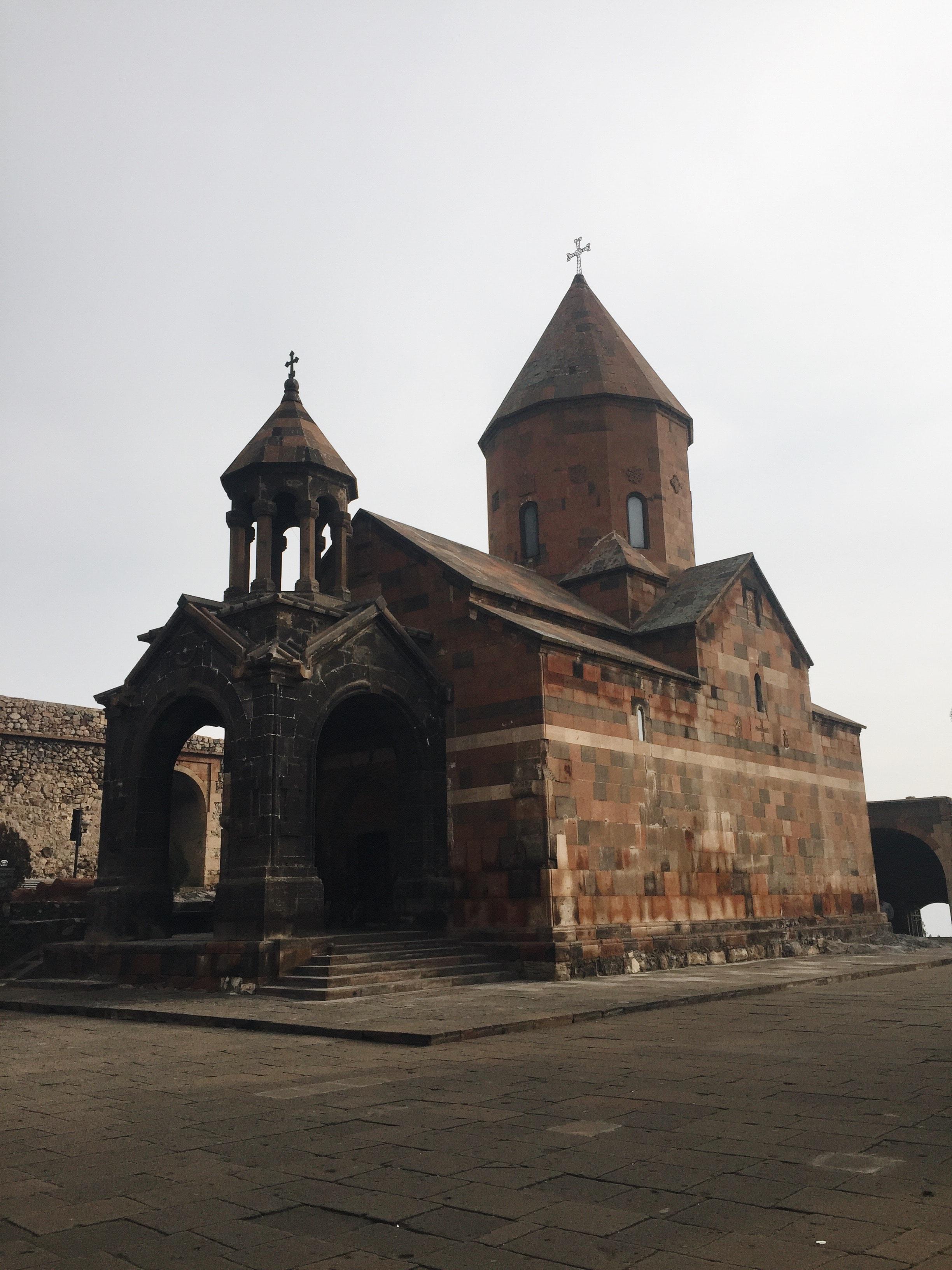 Khor Virap in the Ararat plain.