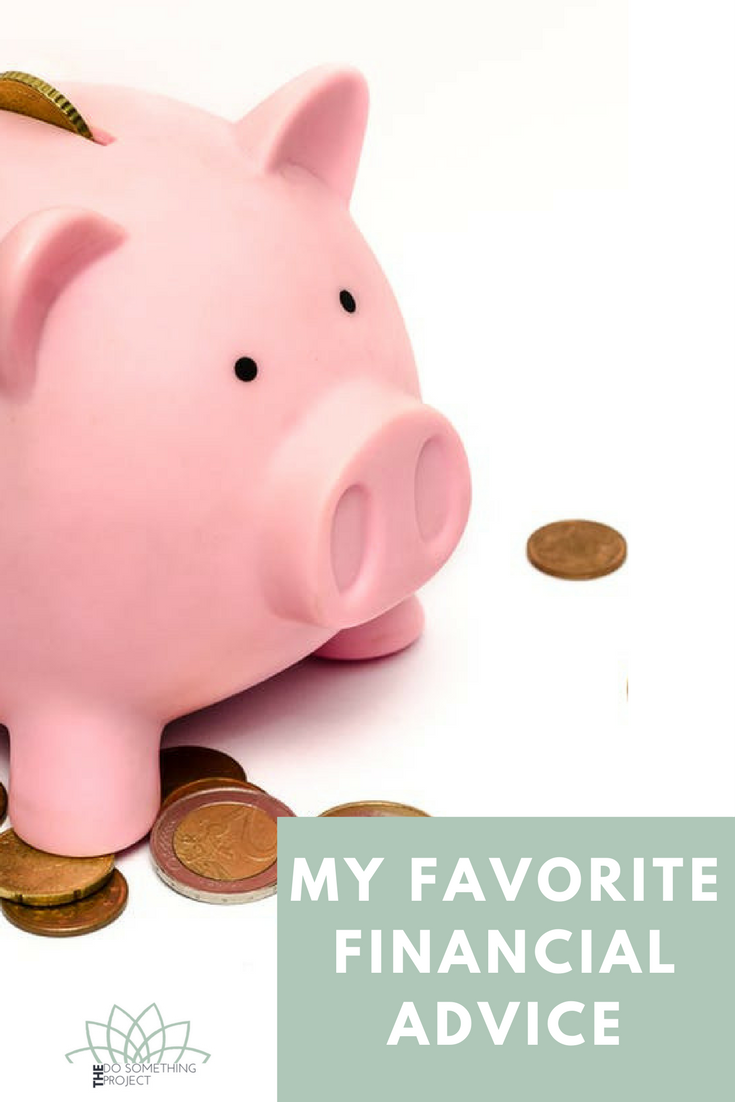 My Favorite Financial Advice: What to save for in your 20s