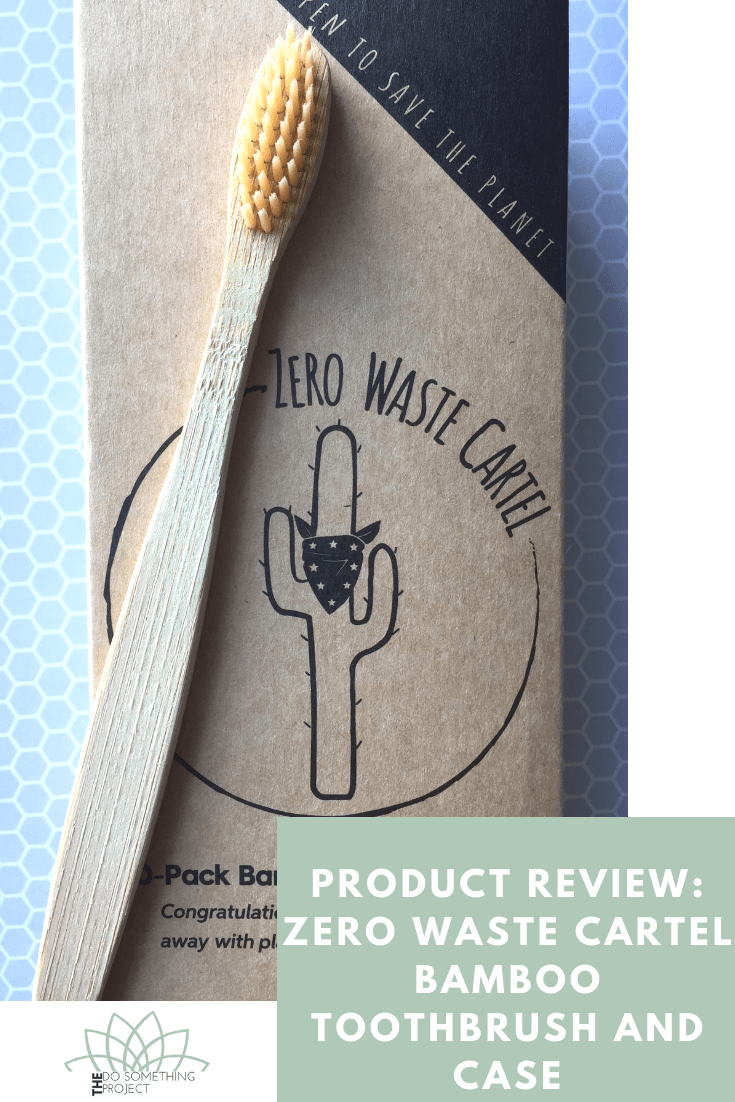 Product Review: Zero Waste Cartel Bamboo Toothbrush and Case