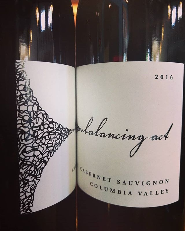 Our wine special tonight is @tamarackcellarswine Balancing Act 2016 Cabernet Sauvignon. Soft on tannins and elegant with an acidic and jammy profile. We're intrigued by this Cab out of Walla Walla, Washington. Beat this rain & come try a glass tonight! 📞828-277-1510. . . . . . #rezazpanmediterranean #savorspicelove #avlwine #avldrinks #avleats #avldrinks #wallawalla #washingtonstate #balancingact #cabernetsauvignon #redwine #washingtonwine #weekendwine #ashevillenc #biltmore #biltmorevillage #columbiavalley