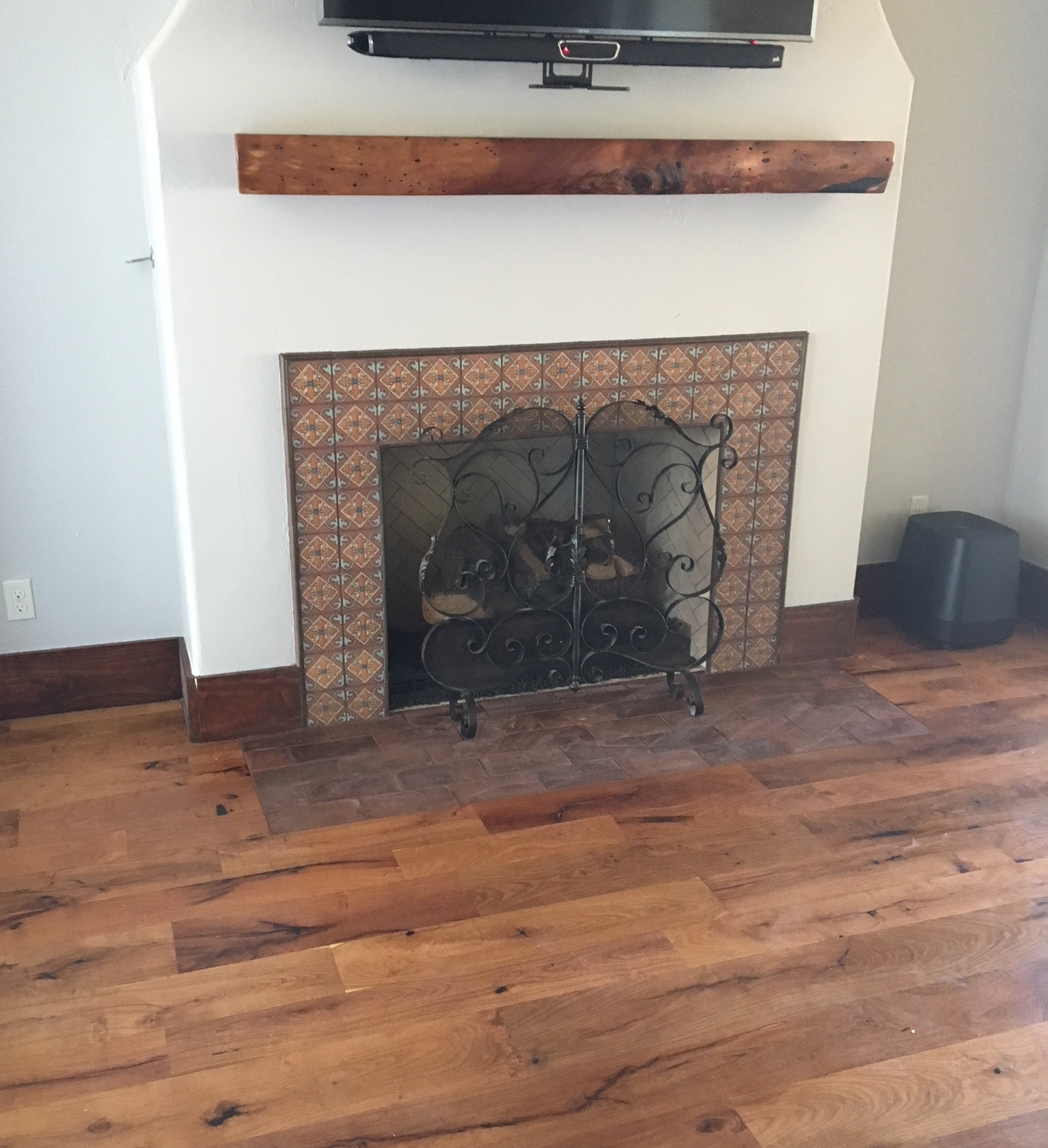 Mesquite Fireplace located in Round Rock