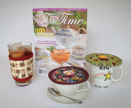 Thinsulate insulated Kup Kollars and Kup Kaps will enhance your tea experience.