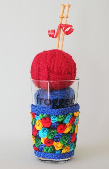 Knitting Kollar on glass yarn_72