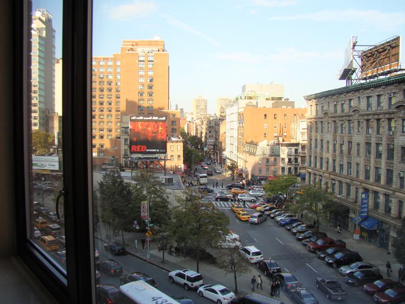 NYC 7193 Oct 23, 2010 Hilton Garden Inn window view_72
