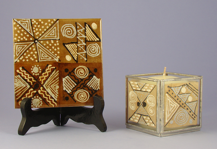 Original TBags tile candle holder_72
