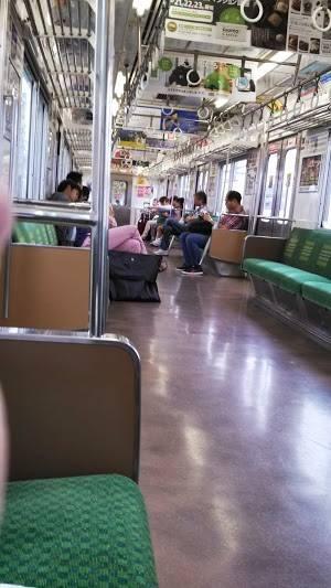 coll on train to  Omiya sept 2013