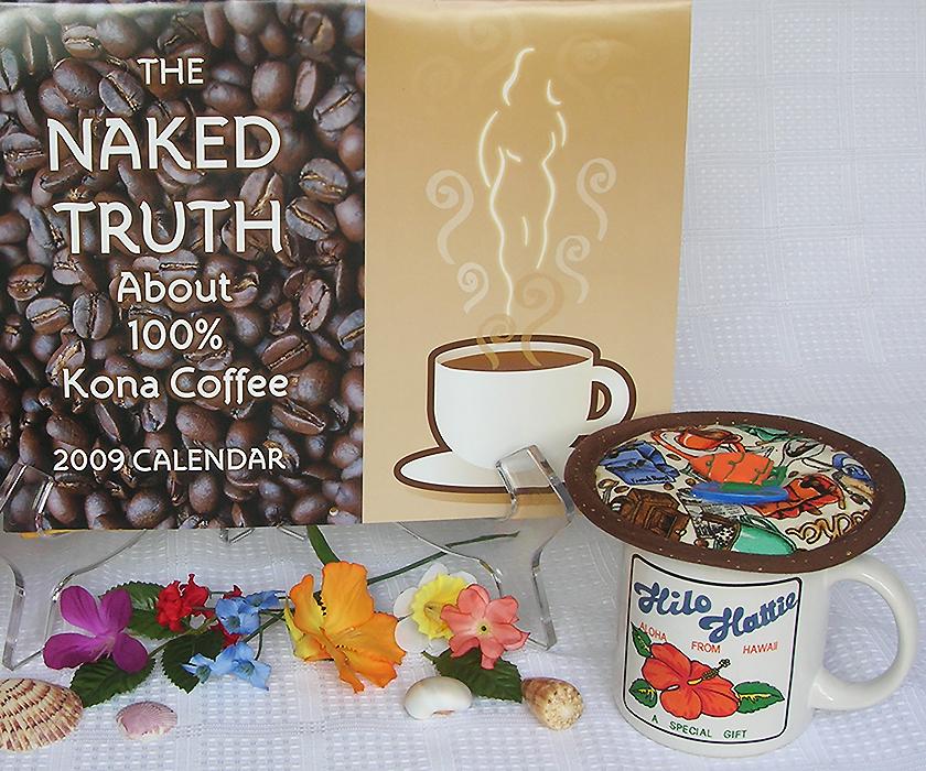 Thinsulate insulated Espresso Medley Kup Kap on mug from Hawaii.