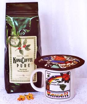 Thinsulate insulated Espresso Medley Kup Kap on mug.