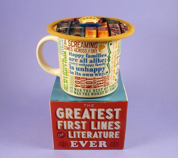 Thinsulate insulated Reading Books Kup Kap on quotes mug.