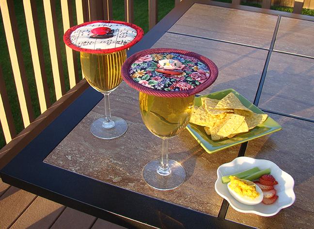 Kap 2 wine glasses deck table Music Garden Floral.jpg