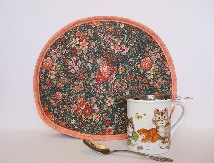Forest Florals  Tea Tabard teapot cover  is one of many cozy designs at koffeekompanions.com.