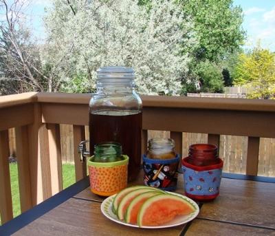 Kream Koll Ball jars 3 tea jug Ladybugs Baseball Sherbet watermelon.jpg