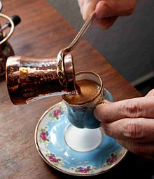 Turkish coffee served from copper pitcher_Cezve.jpg