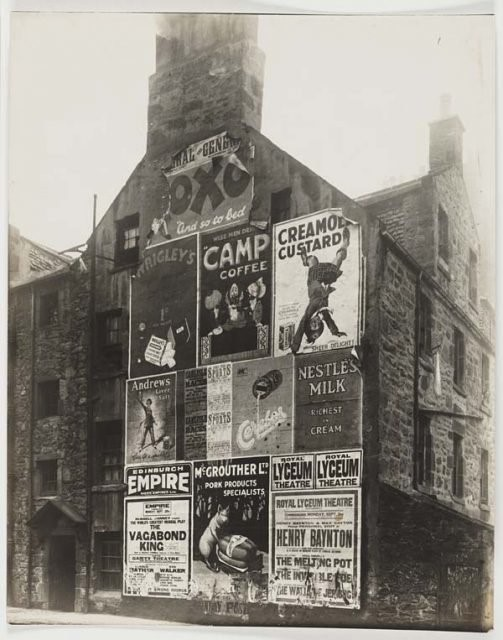 Camp Coffee advertising in Scotland. Wikimedia Commons