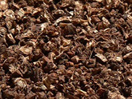 Roasted and chopped dandelion root for coffee substitute. By LinguistAtLarge, Zero-X at Flickr, Public domain, Dec 26 2008