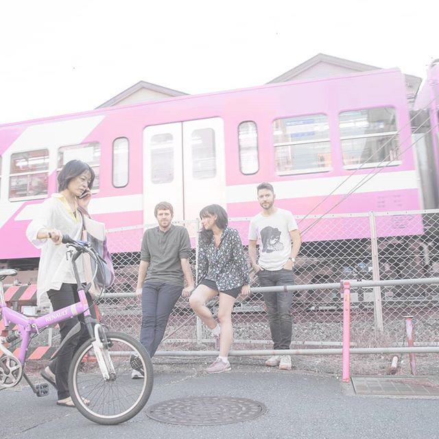 Chillin' in Chiba. An @eric_kelly photo. #happyhollows #chiba #pink