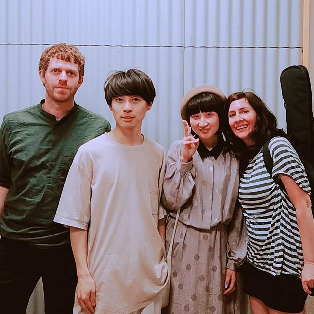 We played with ambient, shoegaze duo Goghst in Chiba. Really enjoyed their set! #goghst #happyhollows #Chiba #livehouse