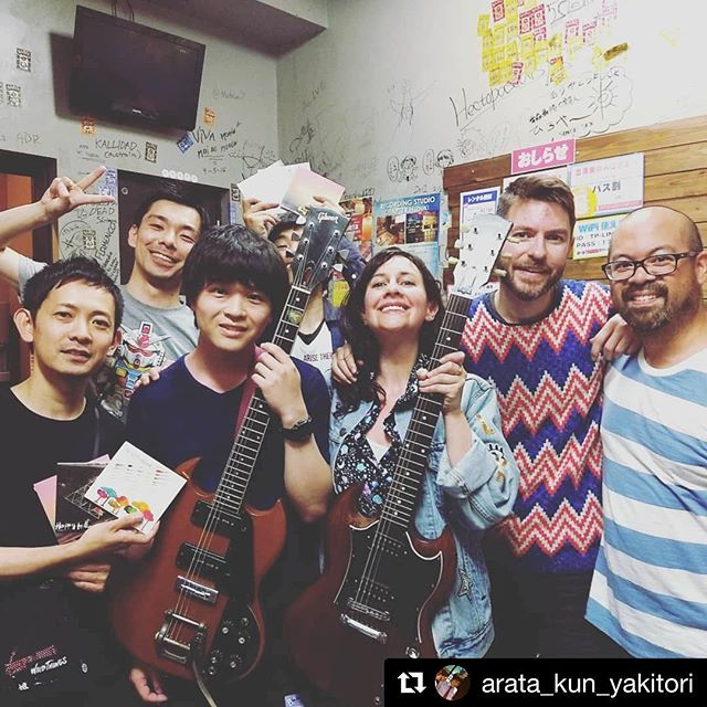 We shared our love of SG's after the show w/ @arata_kun_yakitori xo