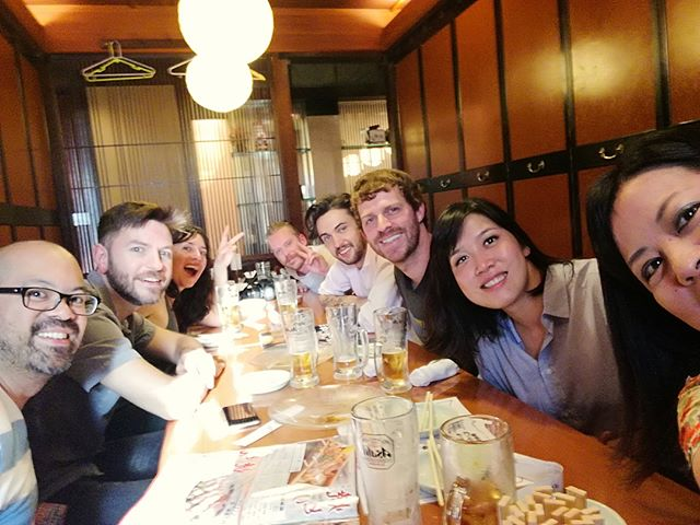 Tokyo with our crew xoxo