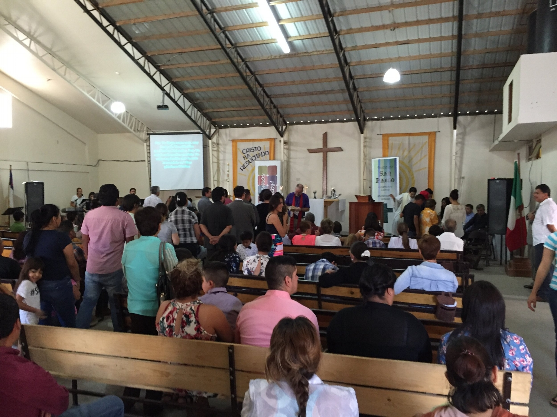 Bispo Mark na Igreja do Grande Pastor
