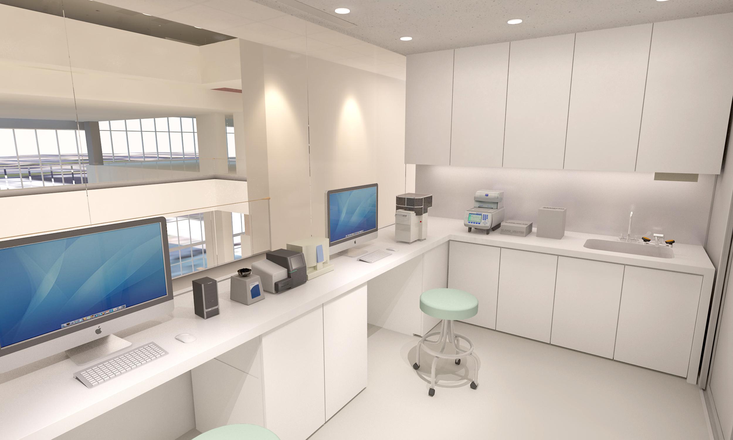 MIT Media Lab BSL-2 Lab