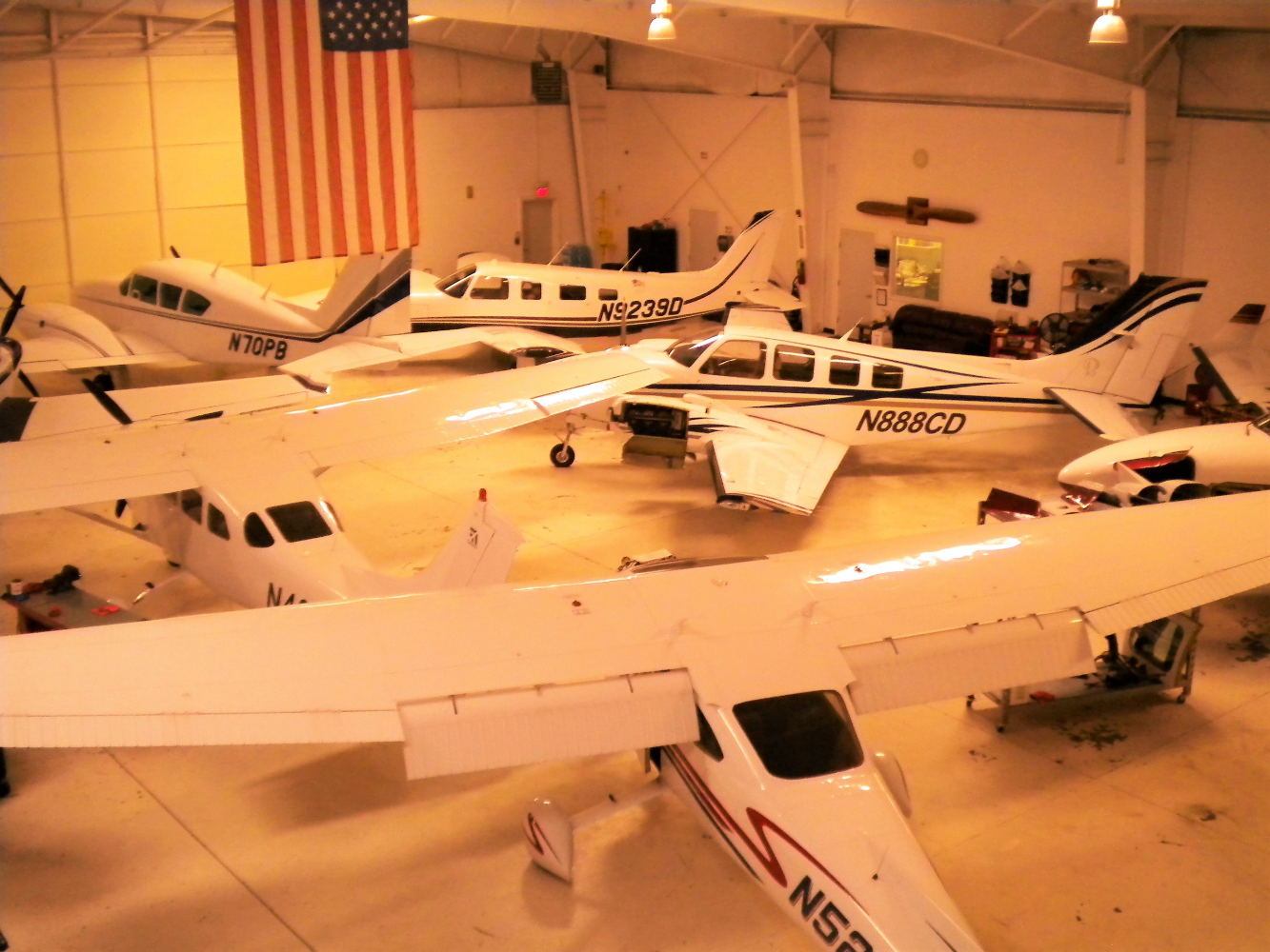 aviation maintenance shop