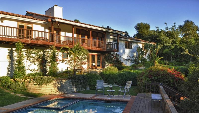 Ocean View Spanish Style Home - Montecito