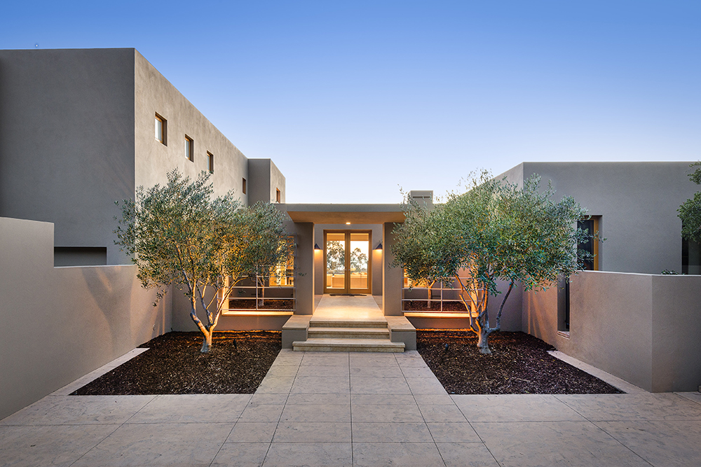 SOLD!  Ocean View Contemporary Villa    OFFERED AT $6,950,000