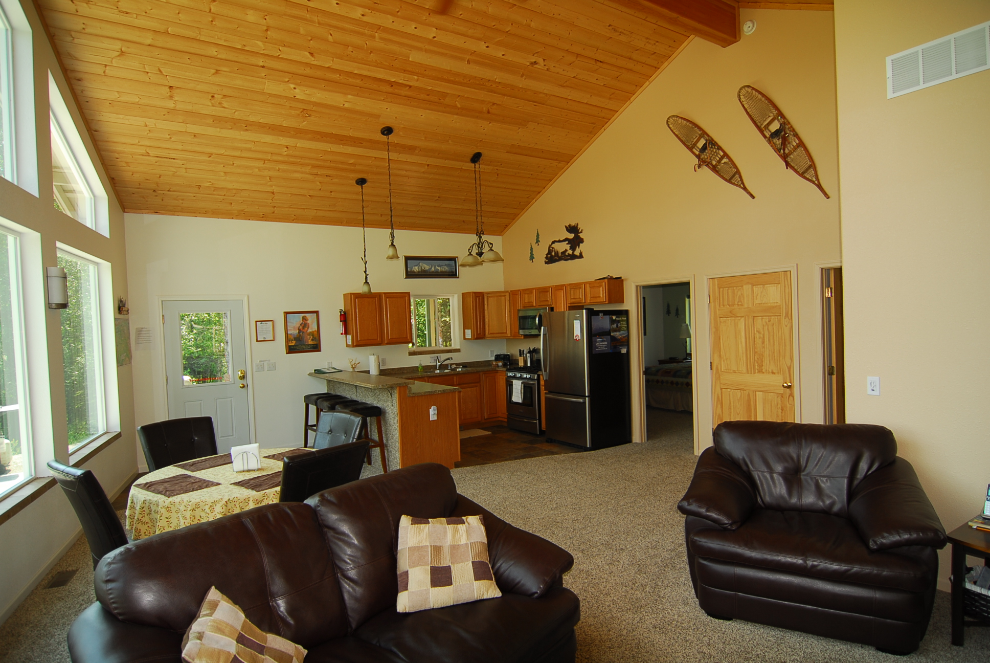 Large open living area