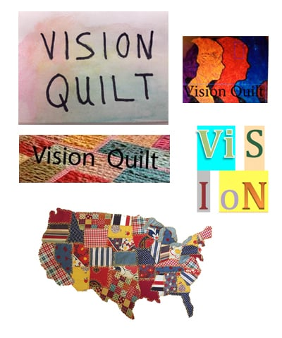 Inspiration provided by Vision Quilt