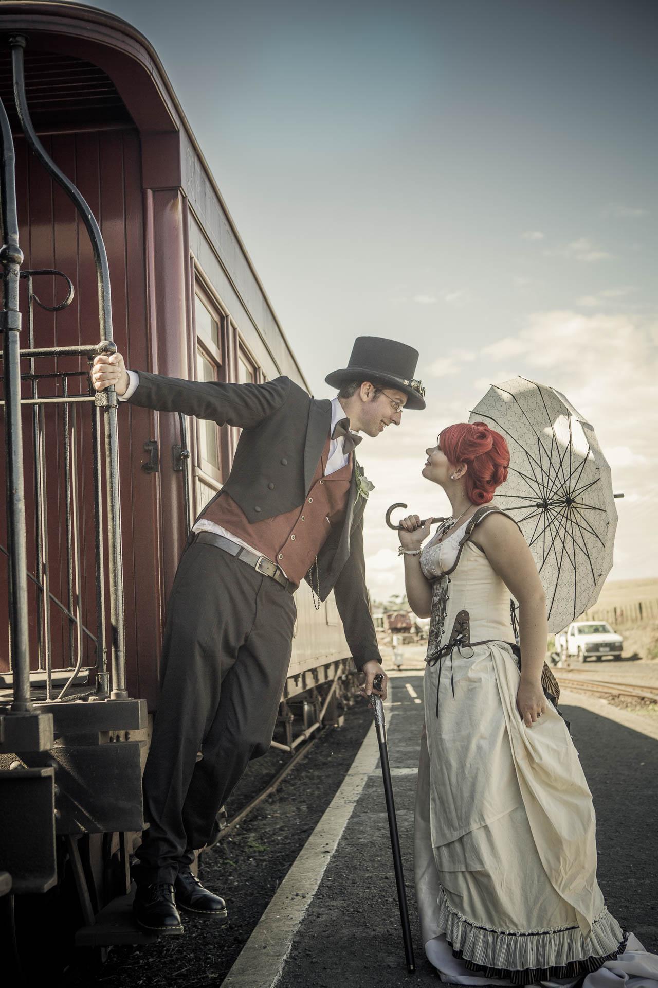 Steampunk Stylised Wedding