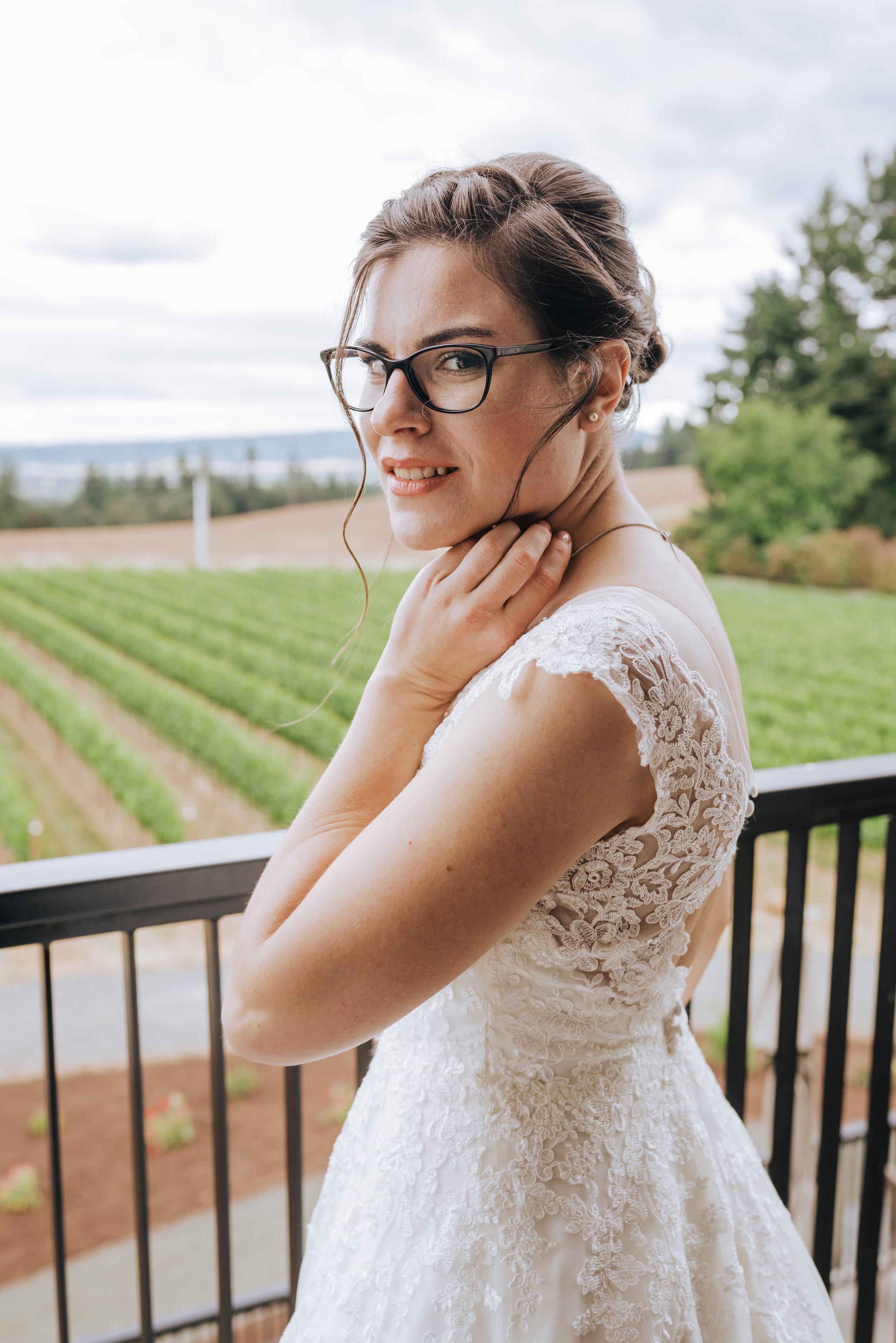 Wedding Hair Makeup Kaitlyn Fenton Portland Or