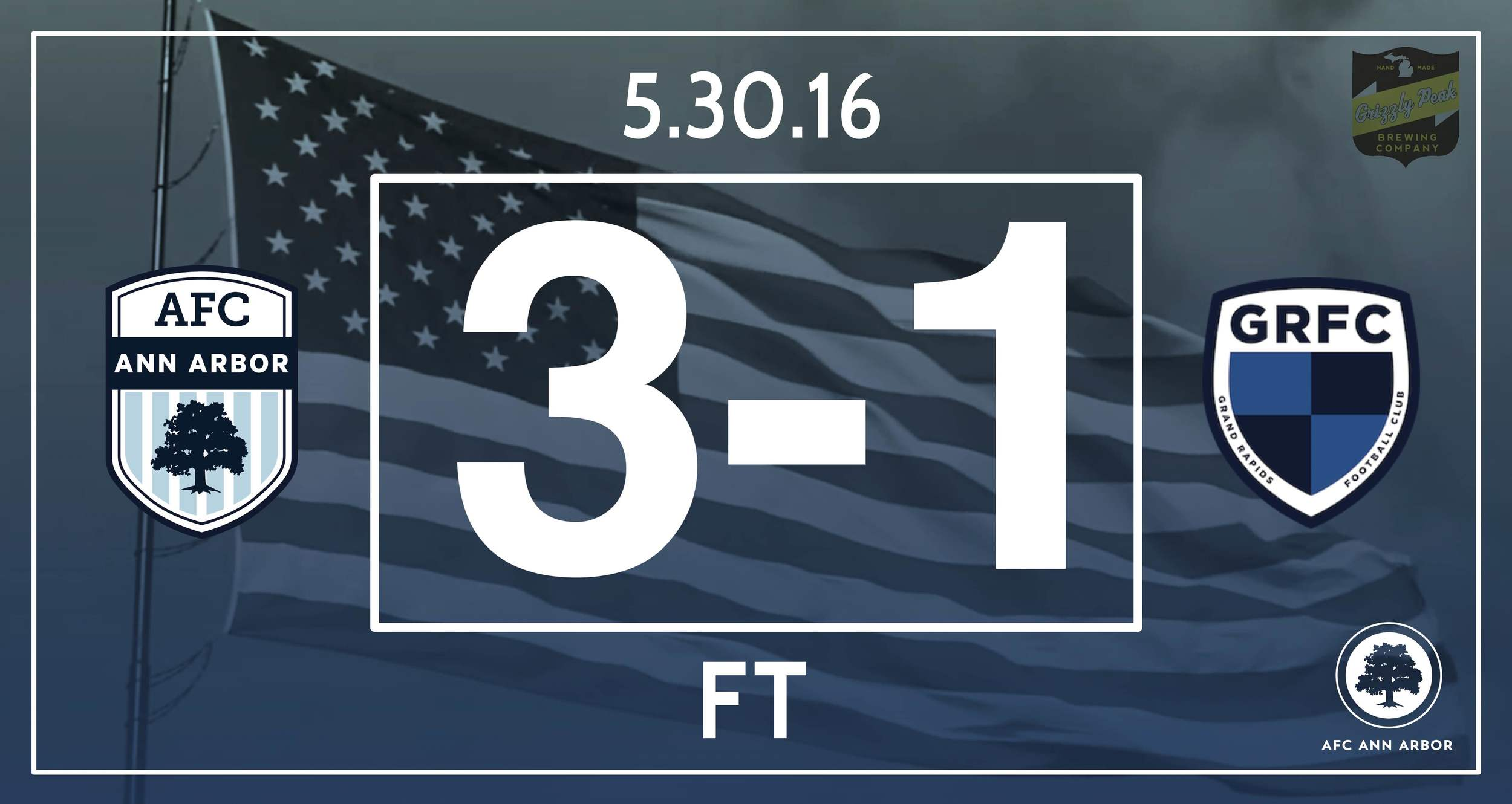 Match Recap  // Farkas 13' // Suarez 45' // Windster 80' // Audi Ann Arbor Man of the Match: Dario Suarez