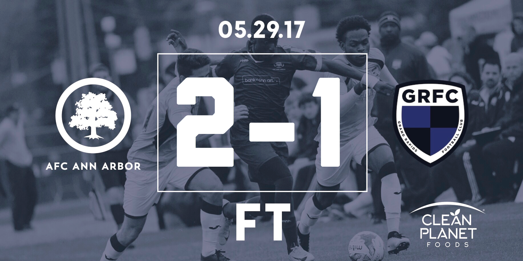 57' Morales, 65' Muskwe //  Match Recap  // Audi Ann Arbor Man of the Match: Jesse Muskwe (Assist, Goal) //  Probility Play of the Game