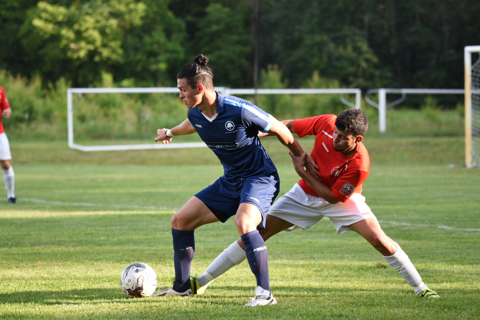 Yuri Farkas assisted on 2 of the 4 AFC Ann Arbor goals Friday night in Indiana